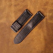 Украшения handmade. Livemaster - original item Calf leather watchband (31). Handmade.