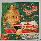 """Картины и панно ручной работы. Ярмарка Мастеров - ручная работа Вышитая картина """"Русские мотивы"""". Handmade."""
