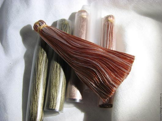 Для украшений ручной работы. Ярмарка Мастеров - ручная работа. Купить Кисточка 6,5 см (65 мм), кисточки. Handmade.