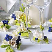 Свадебный салон ручной работы. Ярмарка Мастеров - ручная работа Свадебные свечи и аксессуары. Handmade.