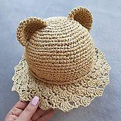 Аксессуары handmade. Livemaster - original item Little Bear Hat. Handmade.
