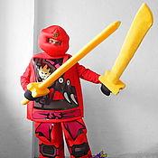 Дизайн и реклама handmade. Livemaster - original item Lego Ninja Go. Life-size puppet. Handmade.