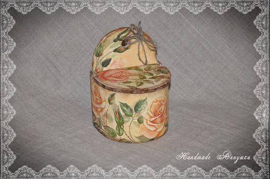 """Кухня ручной работы. Ярмарка Мастеров - ручная работа. Купить Солонка  """"Нежность роз"""". Handmade. Солонка, нежные розы, салфетка"""