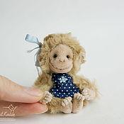 Куклы и игрушки ручной работы. Ярмарка Мастеров - ручная работа Мартышка Малышка. Handmade.