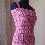 Одежда ручной работы. Ярмарка Мастеров - ручная работа Ажурное платье. Handmade.
