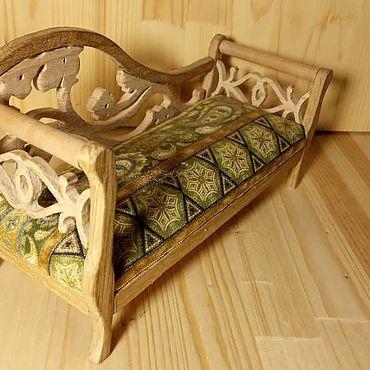 Dolls & toys handmade. Livemaster - original item Couch for doll house, Dollhouse sofa. Handmade.