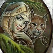 Украшения handmade. Livemaster - original item In the thickets of the forest.... Handmade.