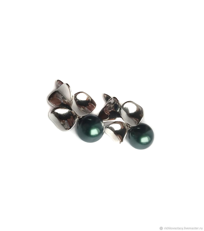 Earrings Shamrock, Earrings, Kirov,  Фото №1