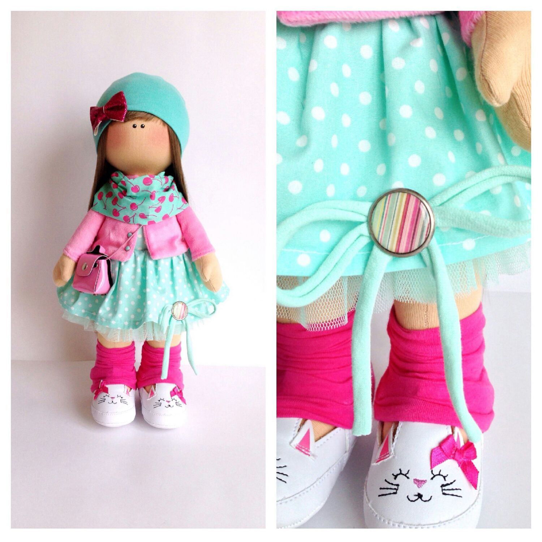 Сшить для кукол тильда