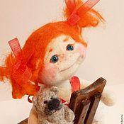 Куклы и игрушки ручной работы. Ярмарка Мастеров - ручная работа Рыжих ангелочков много не бывает...)). Handmade.
