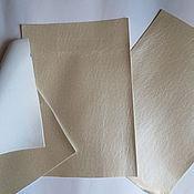 Материалы для творчества ручной работы. Ярмарка Мастеров - ручная работа листы экокожи №213 перламутр. Handmade.