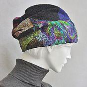 Аксессуары ручной работы. Ярмарка Мастеров - ручная работа Валяная шапка номер четыре. Handmade.