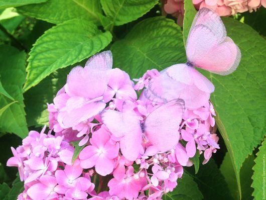 """Заколки ручной работы. Ярмарка Мастеров - ручная работа. Купить Комплект невидимок """"Нежность"""". Handmade. Розовый, украшения, alina lina"""
