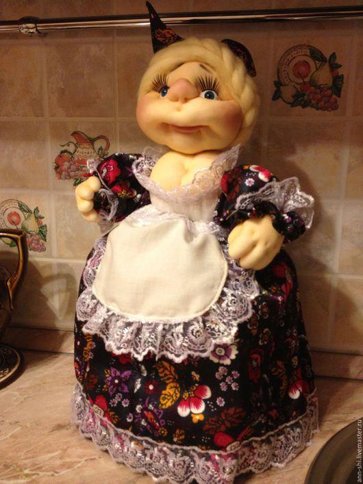 Коллекционные куклы ручной работы. Ярмарка Мастеров - ручная работа. Купить Кукла на чайник. Handmade. Разноцветный, ручная авторская работа