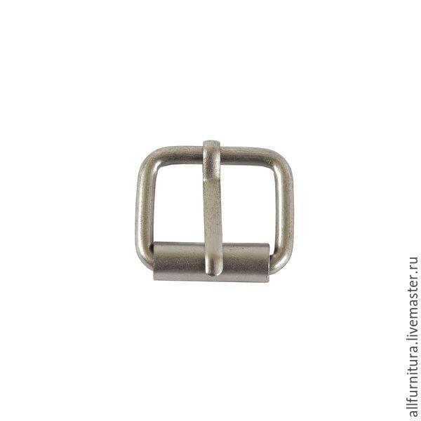 Пряжка RT 20мм (3мм) матовый никель, Фурнитура для шитья, Ейск,  Фото №1