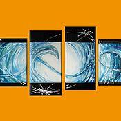 Картины и панно ручной работы. Ярмарка Мастеров - ручная работа Вода. Handmade.