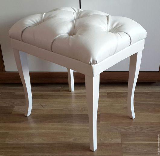 Мебель ручной работы. Ярмарка Мастеров - ручная работа. Купить Белая Роскошьная Банкетка. Handmade. Комбинированный, пуфик, мебель в коридор