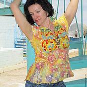 """Одежда ручной работы. Ярмарка Мастеров - ручная работа Жилет """" Мозаика"""". Handmade."""