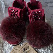 """Обувь ручной работы. Ярмарка Мастеров - ручная работа Валеши """"Рубин"""". Handmade."""