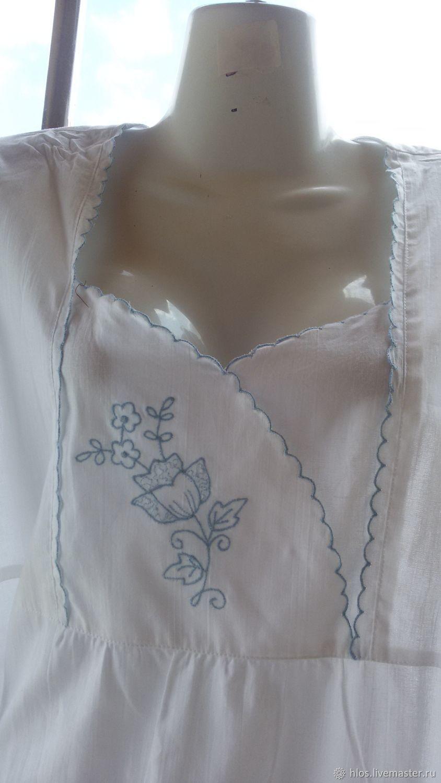 White nightgown, Nightdress, Ivanovo,  Фото №1