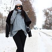 """Одежда ручной работы. Ярмарка Мастеров - ручная работа Кашемировый свитер oversize """"Tremendous"""". Handmade."""