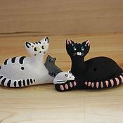 Музыкальные инструменты handmade. Livemaster - original item Whistles: Cats, Cats, kittens. Handmade.