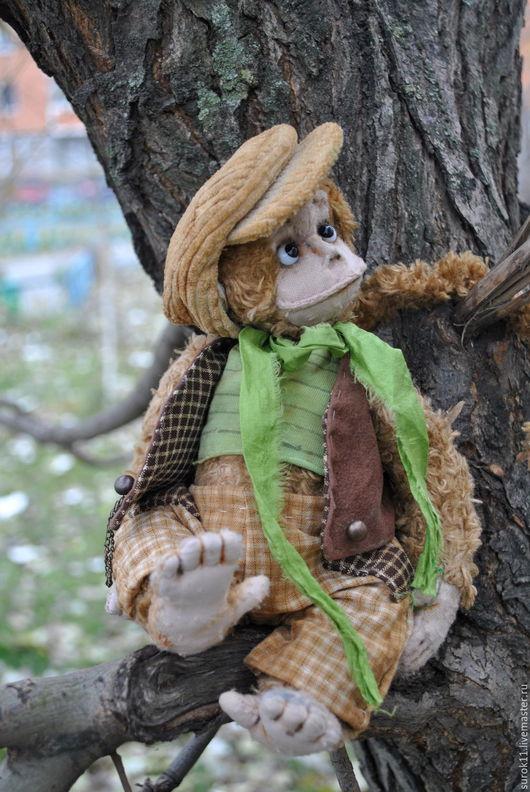 Мишки Тедди ручной работы. Ярмарка Мастеров - ручная работа. Купить Адриан.. Handmade. Коричневый, тедди, опилки древесные