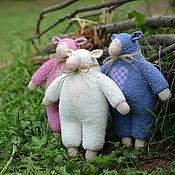 Куклы и игрушки ручной работы. Ярмарка Мастеров - ручная работа веселая овечка. Handmade.