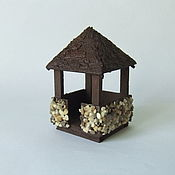 Куклы и игрушки handmade. Livemaster - original item Mini gazebo for garden and Dollhouse miniatures. Handmade.