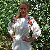 """Русский стиль ручной работы. Ярмарка Мастеров - ручная работа Блуза в фольклорном стиле """"Цветочная"""". Handmade."""