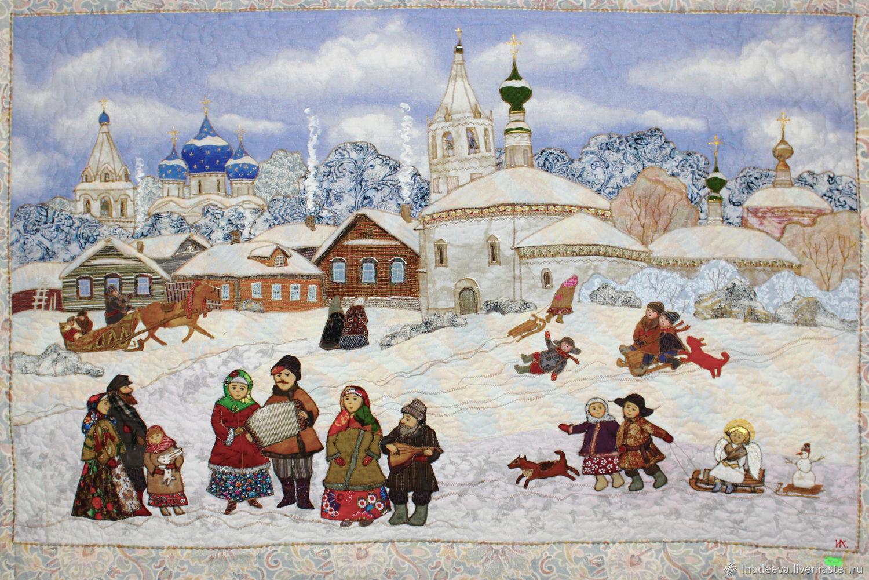 Воскресное гуляние, Картины, Владимир,  Фото №1