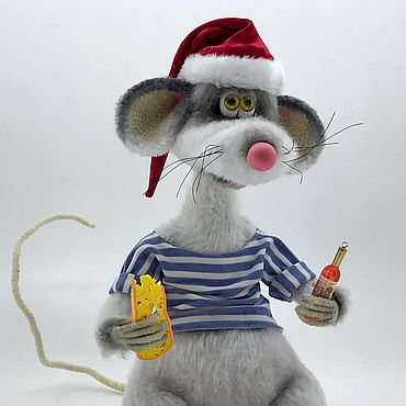 Dolls & toys handmade. Livemaster - original item Rats Cheburek. Handmade.