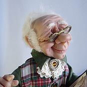 """Куклы и игрушки ручной работы. Ярмарка Мастеров - ручная работа """"Сказки на ночь для детей и взрослых"""" (нашел дом). Handmade."""