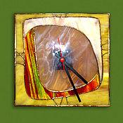 Для дома и интерьера ручной работы. Ярмарка Мастеров - ручная работа Часы АФРИКА. Handmade.