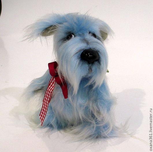 """Мишки Тедди ручной работы. Ярмарка Мастеров - ручная работа. Купить Собака Друзья Тедди  """"щенок БЯка """". Handmade."""