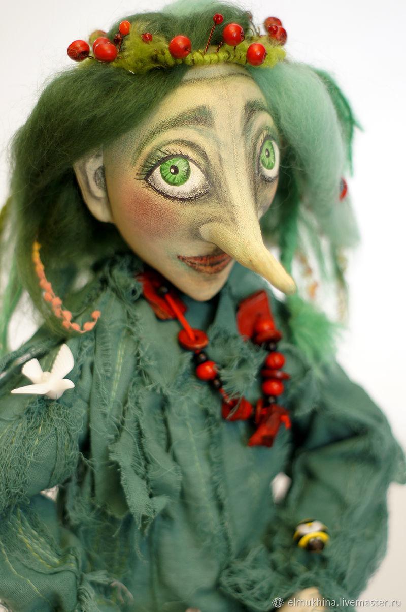 Кикимора кукла, Кукольный театр, Москва,  Фото №1