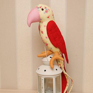 Куклы и игрушки ручной работы. Ярмарка Мастеров - ручная работа Попугай в стиле Тильда,ручная работа. Handmade.