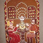 """Сувениры и подарки ручной работы. Ярмарка Мастеров - ручная работа пряник """"у самовара"""". Handmade."""