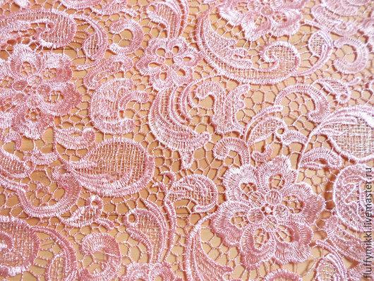 Кружево макраме Южная Корея розовый