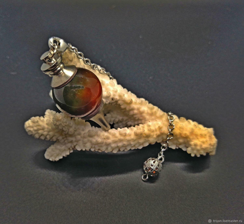Pendulum from Madagascar agate, Pendulum, Moscow,  Фото №1