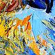 """Животные ручной работы. Заказать Картина сова """"Хранитель Тайного Знания"""" картина маслом с совой. ЯРКИЕ КАРТИНЫ Наталии Ширяевой. Ярмарка Мастеров."""