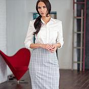 Одежда handmade. Livemaster - original item Silk white blouse. Handmade.
