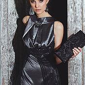 """Одежда ручной работы. Ярмарка Мастеров - ручная работа Элегантное вечернее платье """"Интрига ночи"""". Handmade."""