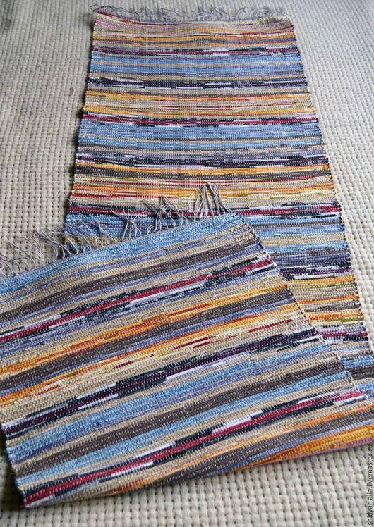 Текстиль, ковры ручной работы. Ярмарка Мастеров - ручная работа. Купить Половик ручного ткачества (№ 85). Handmade. Половик