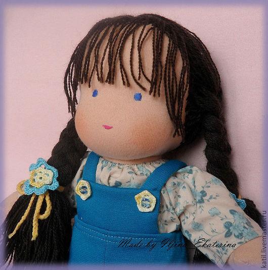 Вальдорфская игрушка ручной работы. Ярмарка Мастеров - ручная работа. Купить Вальдорфская кукла 35см. Handmade. Вальдорфская кукла