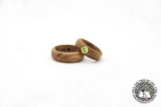 Кольца ручной работы. Ярмарка Мастеров - ручная работа. Купить Дубовые кольца. Handmade. Подарок девушке, свадьба, оригинальное украшение