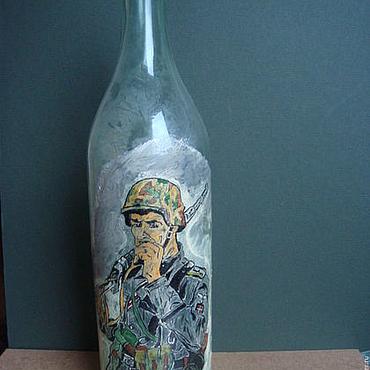 Посуда ручной работы. Ярмарка Мастеров - ручная работа бутылка немецкая. Handmade.