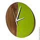 Часы для дома ручной работы. Часы настенные Форест. Часы ручной работы.. Ansem-store. Ярмарка Мастеров. Интерьер, дерево