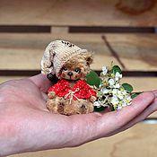 Куклы и игрушки ручной работы. Ярмарка Мастеров - ручная работа Домовенок Кузьма (6,3 см). Handmade.