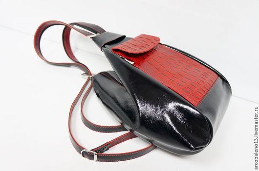 Рюкзаки ручной работы. Ярмарка Мастеров - ручная работа. Купить Рюкзак кожаный женский. Handmade. Рюкзак кожаный женский